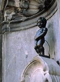 Manneken Pis i Bryssel, Belgien