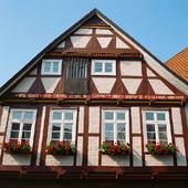 Korsvirkeshus i Celle, Tyskland