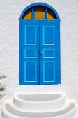 Blå dörr, Grekland