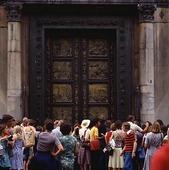 Turister i Florens, Italien