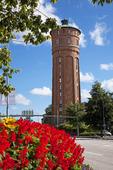 Gamla vattentornet i Vänersborg, Västergötland