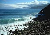 Havskust vid Kanarieöarna, Spanien