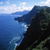 Norra kusten på Madeira, Portugal