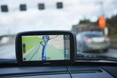 GPS i bil