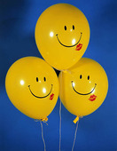Glada ballonger