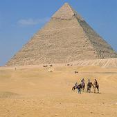 Chefrens pyramiden i Giza, Egypten