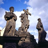 Skulpturgrupp i Prag, Tjeckien