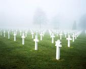 Krigskyrkogård i Normadie, Frankrike