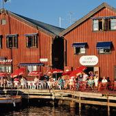 Café i Fjällbacka, Bohuslän