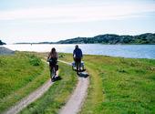 Cykling vid havet
