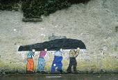 Väggmålning, Irland