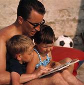 Pappa med barn, 60-talet