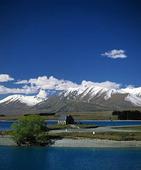 Naturlandskap på Nya Zeeland