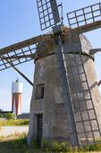 Väderkvarn vid Slite, Gotland