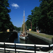 Göta Kanal, Västergötland