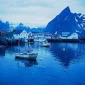 Reine vid Lofoten, Norge