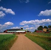 Lantgård i Småland