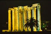 Zeus tempel i Aten, Grekland