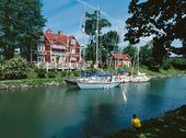Göta Hotell vid Göta Kanal, Östergötland