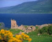 Loch Ness i Skottland, Storbritannien
