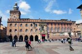 Stadshuset i Bologna, Italien