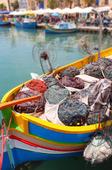 Marsaxlokk fiskeläge, Malta