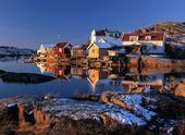 Björholmen på vintern, Bohuslän