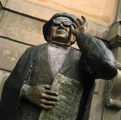 Evert Taube staty, Stockholm