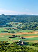 Landskap vid Tosseberg. Värmland