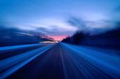 Vinterkörning med bil
