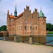 Ereskov slott på Fyn, Danmark
