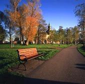 Park i Vadstena, Östergötland