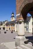 Rådhustorget i Östhammar, Uppland