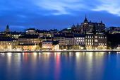 Södermalm med Södermälarstrand, Stockholm