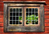Gammalt fönster