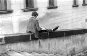 Pojke som läser