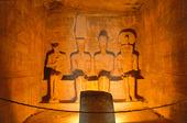 Ramesses II Tempel i Abu Simbel i Aswan, EgyptenRamesses II Tempel i Abu Simbel i Aswan, Egypten