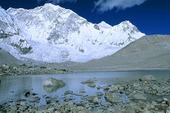 Fjäll i Nepal
