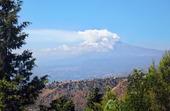 Vulkanen Etna på Sicilien, Italien