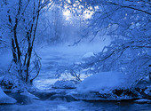 Frostigt vattendrag
