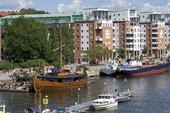 Norra Hammarbyhamnen i Stockholm