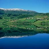 Sjön Vangsvattnet, Norge