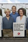 Valaffisch, Socialdemokraterna