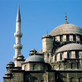 Mosque Yeni Cami in Istanbul, Turkey