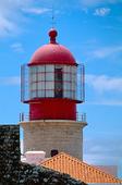 Fyren Cabo de Sao Vincente, Portugal