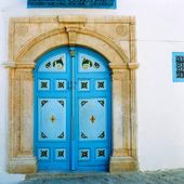 Dörr i Sidi-bou-said, Tunisien