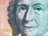 Carl von Linné på 100-kronors sedel