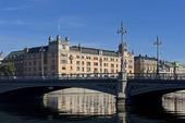 Vasabron vid Rosenbad, Stockholm