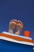Fötter på kylväska