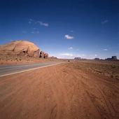Väg i Arizona, USA